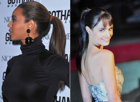 Прическа хан на средние волосы