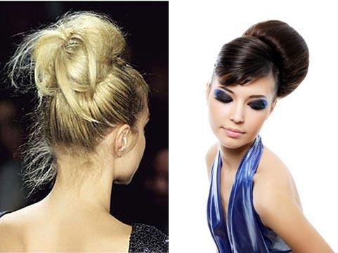 При...  На длинные волосы можно сделать много различных причесок.  Но пучок - это такой вид прически...