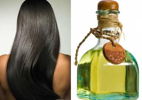 Маски для роста волос с касторовым маслом.