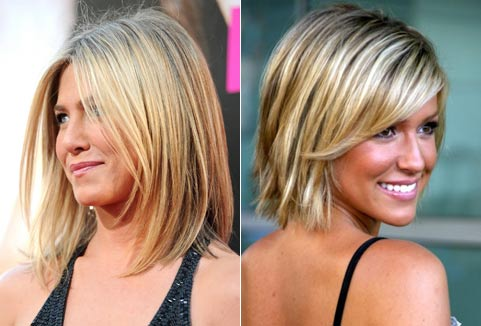 Стрижка для прямых тонких волос